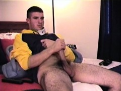 Straight Boy Cj Strokes It Alone