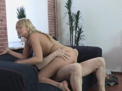 Casting Babe Rides Cock For Cash