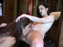 Office sex with Francesca Le and Georgia Jones