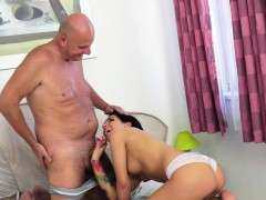 Beautiful Euro Teen Pussyfucked By Grandpa