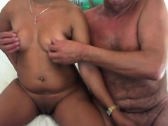 Big Tit Asian Chick Loves His Small Cock