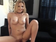 Hard Pussy Masturbation Of Sexy Babe With Big Tits