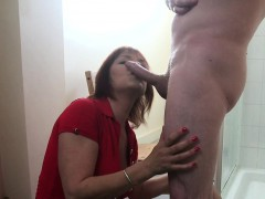 mature-cfnm-redhead-tugging-and-sucking-cock