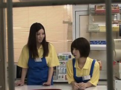 agreeable japanese hottie changes her garments in public