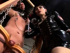 mistress dominates his slave