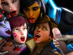 Overwatch Hentai Music video Re submitted