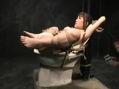 Perverse Japanese Slave Babe Enjoys Bdsm Torture