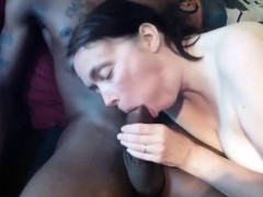 mature white wife enjoying her first huge black cock