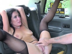 Sexy Babe Ella Bella Gets Dicked Down By Hung Driver
