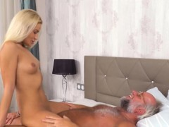 Hot Babe Remembers Her First Sex With Grandpa