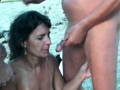 Hot Milf Piss And Cumshot