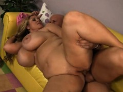 Blonde Plumper Titty Fuck And Banged