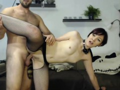 cute little bdsm slave used by her daddy…