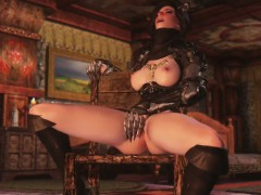 3d queen of darkness summoned for herself a horny to fuck he WWW.ONSEXO.COM