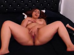 sexy bbw amateur masturbate with dildo