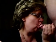 granny eats sperm on webcam