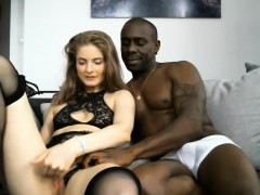 Interracial For White Teen Live On Webcam