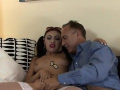 Tiny Cutie Orgasms As She Takes The Biggest Penis She Saw