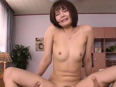 Wench Asian Mama Deepthroats Big Cock And Her Pussy Fingered