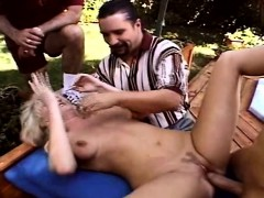 Fuck my wife outside and give her pleasur