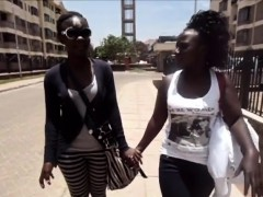 Sexy African Babes Winnie And Pauline Are Enough Of Walking