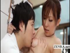 busty-japanese-sultress-harumi-asano-has-tits-suckled