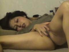 Asian Beauty Finger Bangs