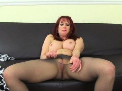 English Milf Tanya Cox Gets Naughty In Tights