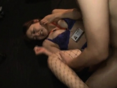 japanese woman blowjob in public bus