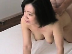 horny asian milf amateur nailed