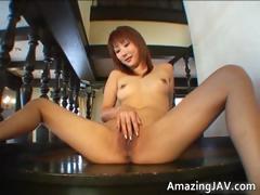 sexy-japanese-redhead-masturbating-video-part5