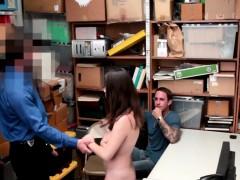 Teen Shoplifter Banging