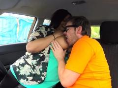 Bbw Ebony Rides Big Cock Instructor In Car