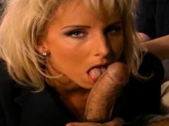 Group Sex For Blonde Swinger