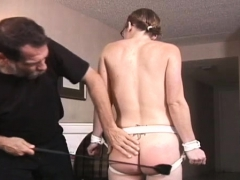 Heavy Sadomasochism Scenery With Young Blindfolded Hottie
