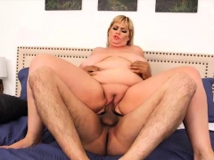 Sexy Plumper Milf Tiffany Blake Rides Huge Cock