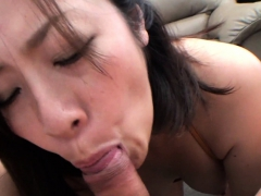 brunette asian girl with golden panties getting thumped