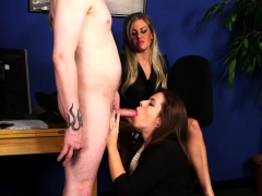 Cocksucking Cfnm Beauty Gets Facialized