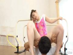 sexy-asian-gymnast-gets-oral-sex