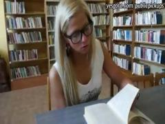 innocent-blonde-girl-in-library-coochie-pounded-for-money