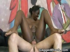 black-amateur-ghetto-slut-rough-mounted-fucking