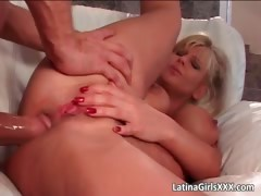 Busty Blonde Latina Gets Pussy And Ass Part5