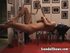 hot-girl-gets-tied-up-at-strip-show
