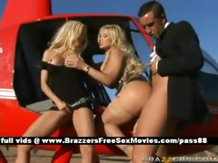 two-horny-sluts-outside-in-a-helicopter-get-a-blowjob