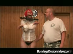 Hooters Breasts Red Wig Intense Fetish Part2