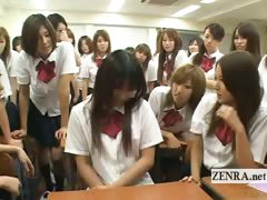 subtitled-enf-japanese-schoolgirl-strips-nude-in-class