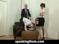 secretary-punished-for-being-lazy