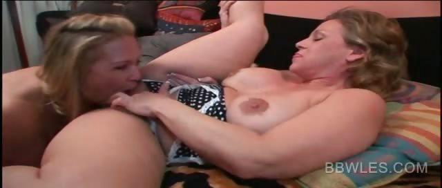 Bbw Lesbian Milf Scissor