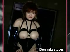 Pvc Fetish Slut Chastened Furiously