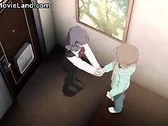 Innocent Little Anime Brunette Babe Part6